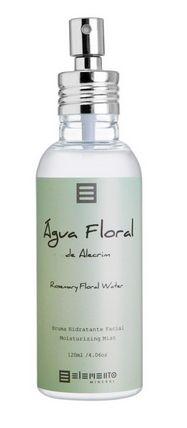 Água Floral de Alecrim Bruma Hidratante Facial 120ml - Elemento Mineral