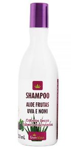 Shampoo Natural Aloe Frutas 300ml - Livealoe