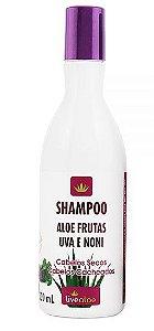 Shampoo Natural Aloe Frutas 300ml - Livealoe