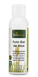 Puro Gel Multifuncional Natural de Aloe 60ml – Livealoe