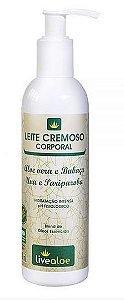 Leite Cremoso Corporal 240ml - Livealoe