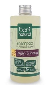 Shampoo Argan e Linhaça 500ml - Boni Natural