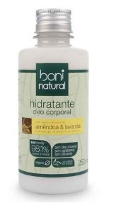 Hidratante Natural de Amêndoa e Lavanda 250ml – Boni Natural
