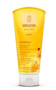 Shampoo & Body Wash Natural de Calêndula 200ml – Weleda
