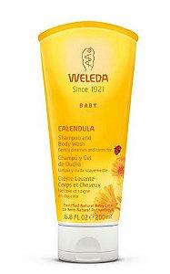 Shampoo & Body Wash Natural de Calêndula 200ml – Weleda