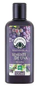 Óleo Vegetal de Semente de Uva 120ml – BioEssência
