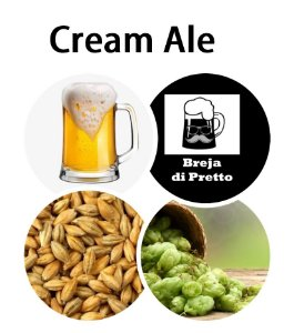 Receita Cream Ale 20 Litros