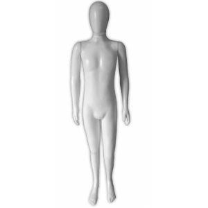Branco - Manequim Masculino Juvenil