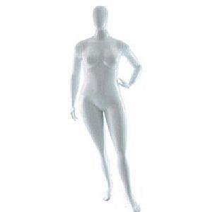 Branco - Manequim Smart Plus Size