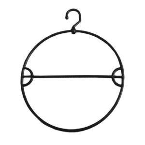 Preto - Cabide circular