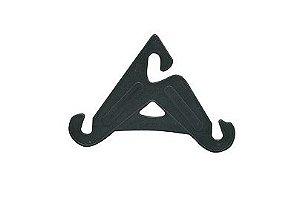 Preto - Cabide Para Sandália (Pacote Com 12 Unidade)