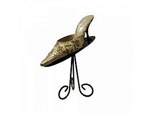Expositor De Sapato Dourado