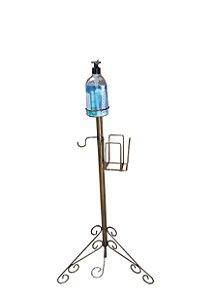 pedestal para alcool em gel Retro