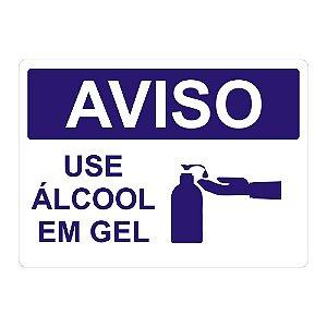 Etiqueta de álcool em gel