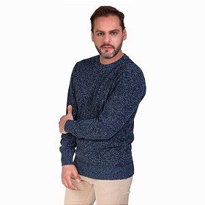Blusa Tricot Com Textura Masculina