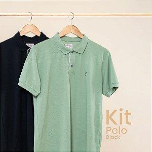 Kit Polo Básica Black