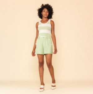 Shorts Feminino Alfaiataria