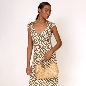 VESTIDO ESTAMPADO ANIMAL PRINT