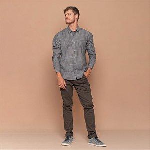 Camisa Masculina Xantê Cinza
