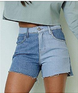 Short jeans duas cores