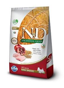 Ração Farmina Nd Ancestral Frango 10,1kg para Cães Adultos Raças Pequenas