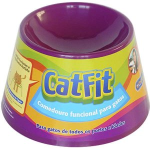 Cat Eat - Roxo