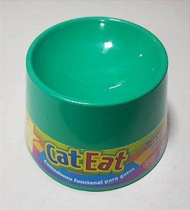Cat Eat - Verde Água
