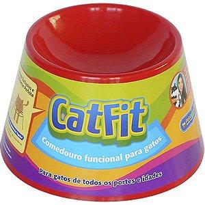 Cat Eat - Vermelho