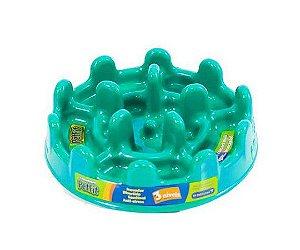 Comedouro Mini Pet Fit - Verde Agua