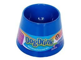 Dog Drink P - Azul