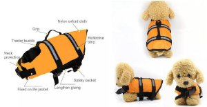 Colete Salva Vidas Para Cães