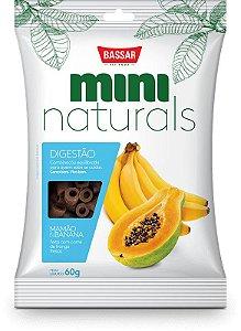 Mini Naturals Digestão - Mamão E Banana