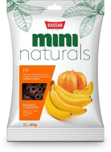 Mini Naturals Fit - Banana E Abóbora