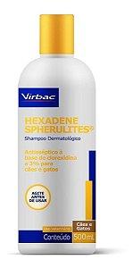 Shampoo Hexadene Spherulites Virbac 500ml