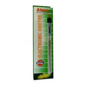 Aquecedor Com Termostato Atman 200w At200 P/ Aquarios - 220v
