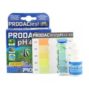Prodac teste de ph doce e salgado (faz até 130 testes)