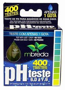 Teste de PH Mbreda 6.0 a 7.6 400 testes