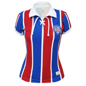 Camisa Retrô Feminina EC Bahia Cordinha