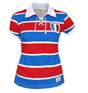 Camisa Retrô Feminina Fortaleza Cordinha