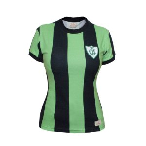 Camisa Retrô Feminina América MG 1971