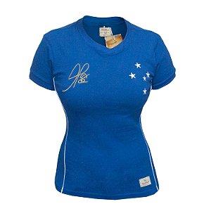 Camisa Retrô Feminina Cruzeiro 2003 Alex Copa do Brasil