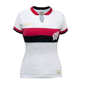 Camisa Retrô Feminina Athletico Paranaense 1978 - Ziquita