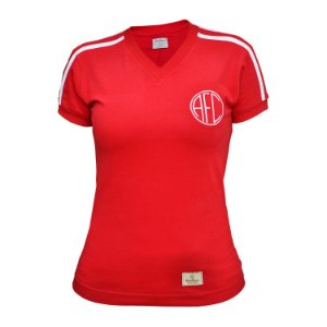 Camisa Retrô Feminina America RJ 1982