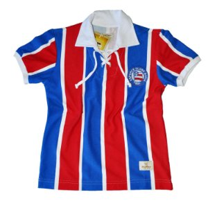 Camisa Retrô Juvenil EC Bahia Cordinha