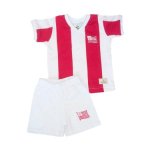 Kit Infantil Camisa Retrô Náutico 1968
