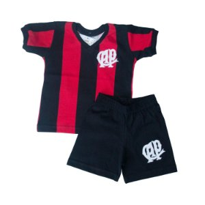 Kit Infantil Camisa Retrô Athletico Paranaense