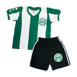 Kit Infantil Camisa Retrô Coritiba 1985