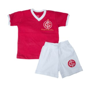 Kit Infantil Camisa Retrô Internacional 1975