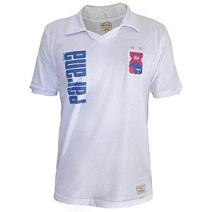 Camisa Retrô Paraná Clube Anos 90 Branca