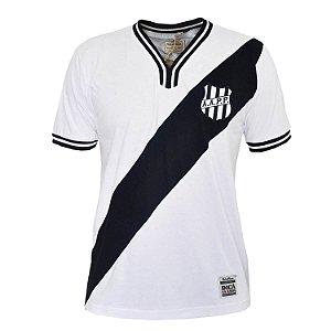 Camisa Retrô Ponte Preta 1977 Branca